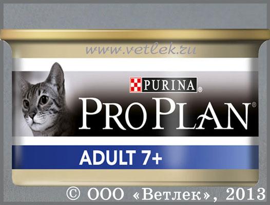 Purina Pro Plan Vital Age 7+, Влажный корм с тунцом для кошек старше 7...