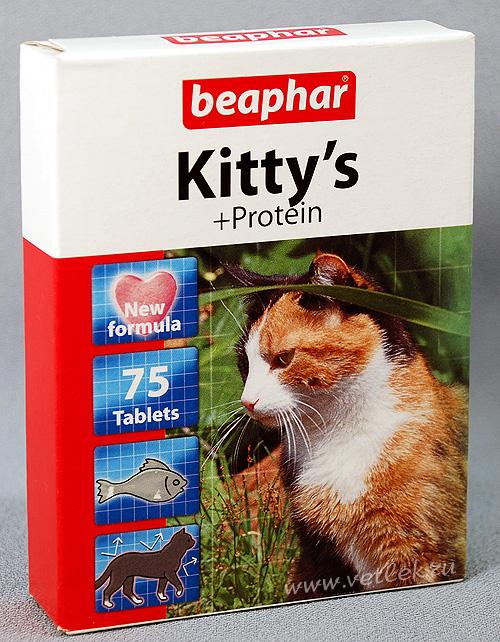 Beaphar kitty s junior витаминизированное лакомство для котят