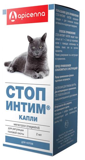 Препараты для кошек, их действие