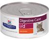 Хиллс Лечебный корм для кошек с заболеваниями желудочно-кишечного тракта (Hill