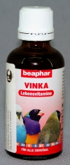 Беафар Витамины для птиц (Beaphar Vinka 11692), фл. 50 мл