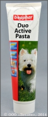 Беафар Поливитаминная паста двойного действия для собак (Beaphar Duo Active Pasta), уп. 100 г
