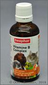 Беафар Комплекс витаминов группы В для собак, кошек, грызунов и птиц (Beaphar Vitamin-B-Complex 12523), фл. 50 мл