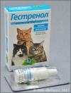 Гестренол капли для котов с кошачьей мятой, фл. 1,5 мл