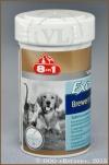 8 в 1 Бреверс Витамины с пивными дрожжами для кошек и собак (8 in 1 Excel Brewers Yeast 109495), банка 140 таб