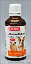 Беафар Витамины для грызунов (Beaphar Lebensvitamine), фл. 50 мл