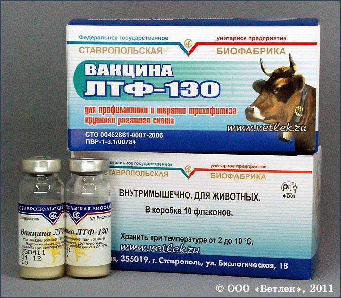 Инструкция вакцины лтф 130