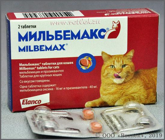 мильбемакс для кошек инструкция по применению цена