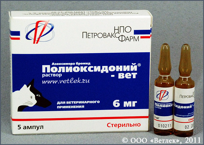 полиоксидоний для собак инструкция по применению - фото 2