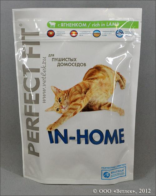 Корм для котов перфект